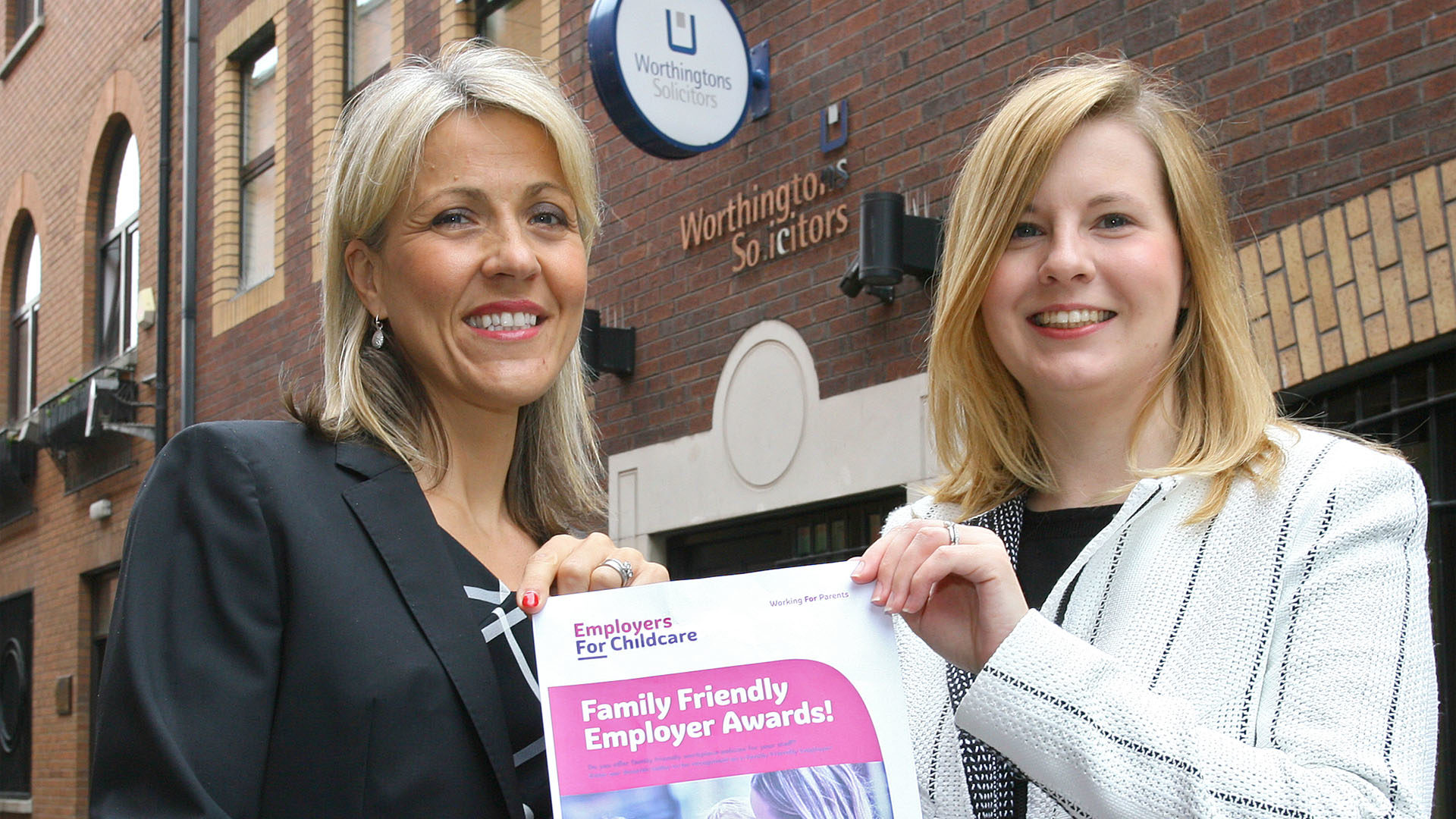 Employers Urged to Enter Annual Family Friendly Awards