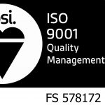 ISO 9001 (with cert no)
