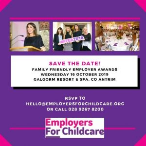 Save the Date Family Friendly Employer Awards 2019