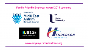 Thank you to our Family Friendly Employer Award 2019 sponsors