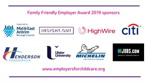 Thank you to our Family Friendly Employer Award 2019 sponsors (2nd Draft)