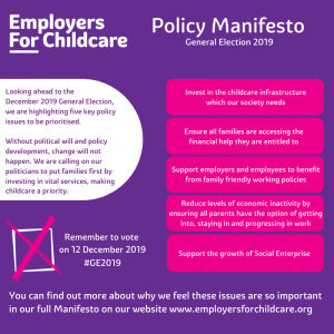 Employers For Childcare's Policy Manifesto at a glance (1)
