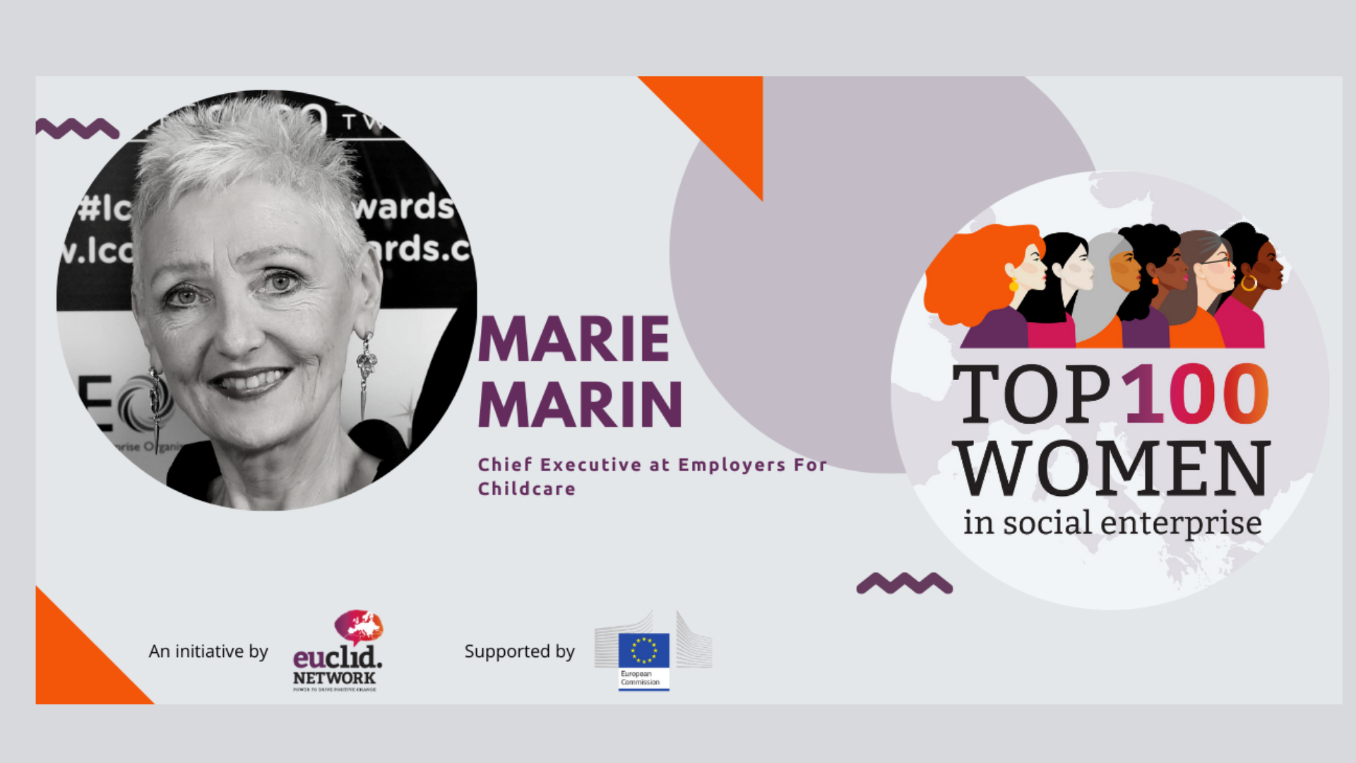 Employers For Childcare Chief Executive Marie Marin recognised at European level