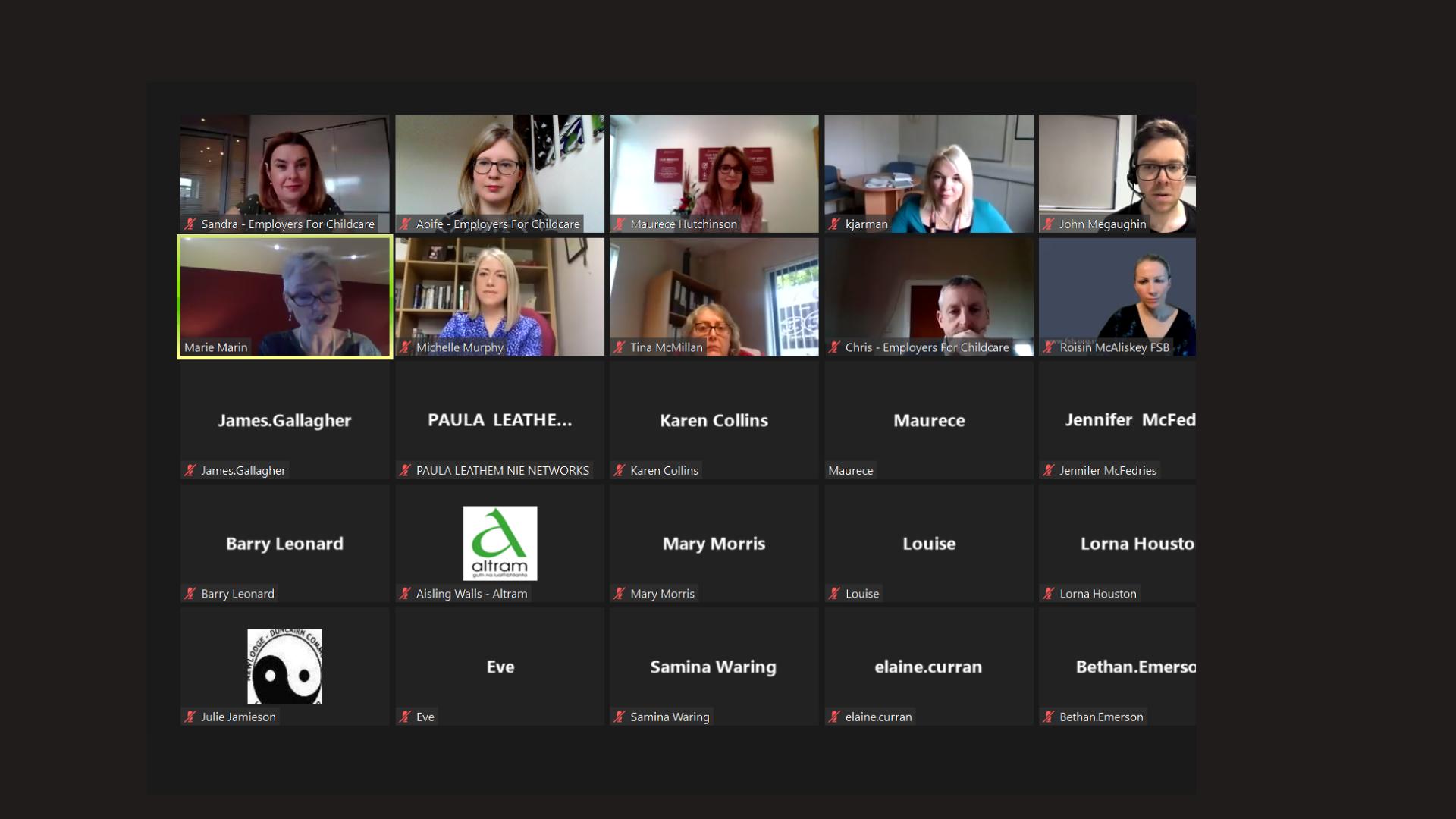 Workshop speakers share innovative models of flexible working